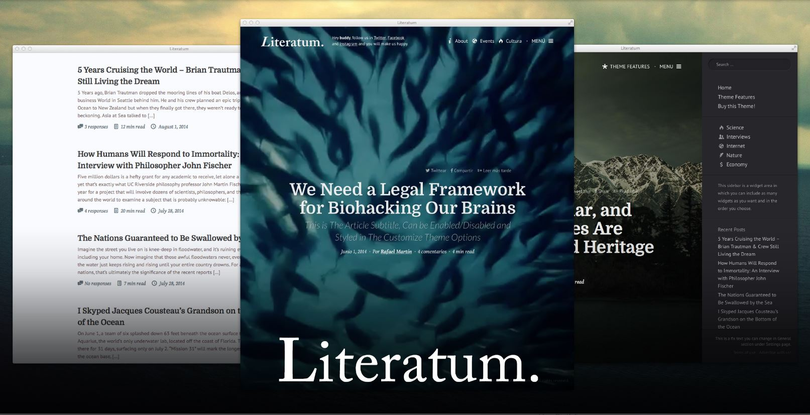 Literarium Theme Review