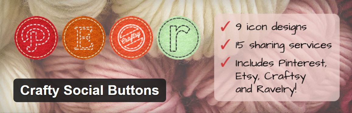 Crafty Social Buttons
